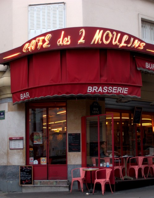 Café des 2 Moulins, Paris
